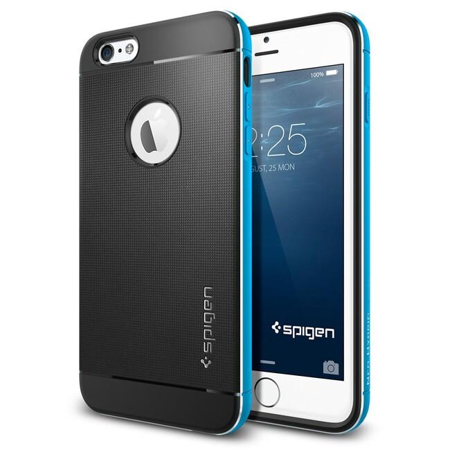 Чехол Spigen Neo Hybrid Metal Blue для iPhone 6/6s Plus
