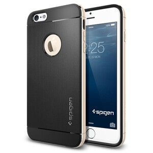 Купить Чехол Spigen Neo Hybrid Metal Champagne Gold для iPhone 6 Plus/6s Plus