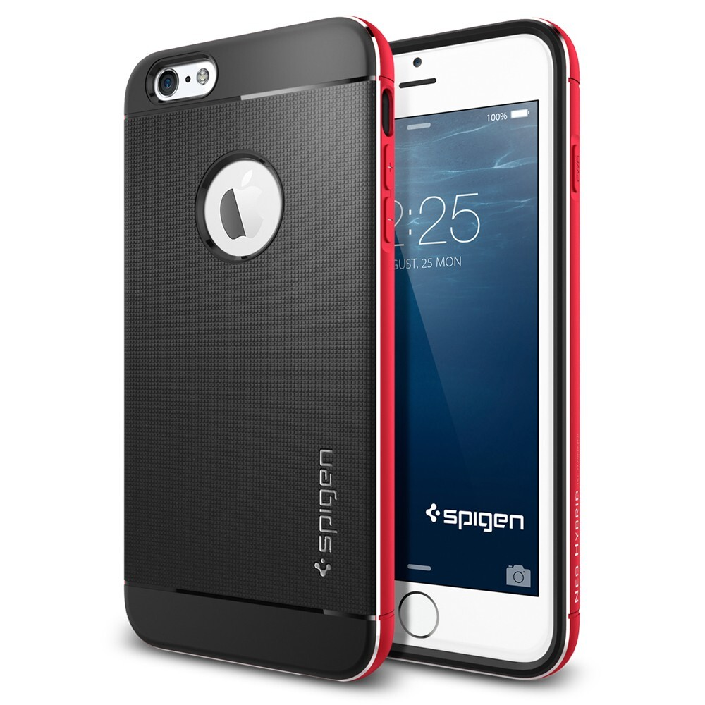 Чехол Spigen Neo Hybrid Metal Red для iPhone 6 Plus/6s Plus