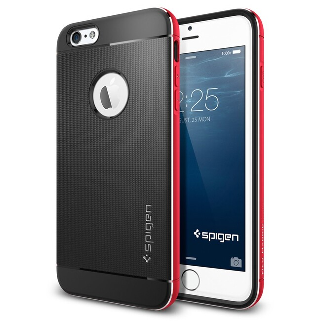 Чехол Spigen Neo Hybrid Metal Red для iPhone 6/6s Plus