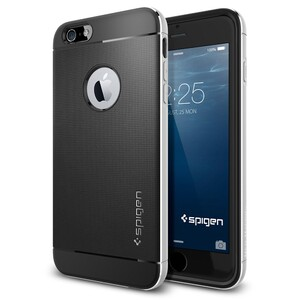 Купить Чехол Spigen Neo Hybrid Metal Satin Silver для iPhone 6 Plus/6s Plus
