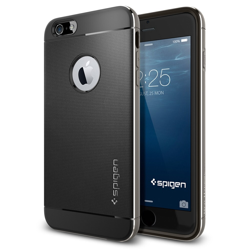 Чехол Spigen Neo Hybrid Metal Space Gray для iPhone 6 Plus/6s Plus