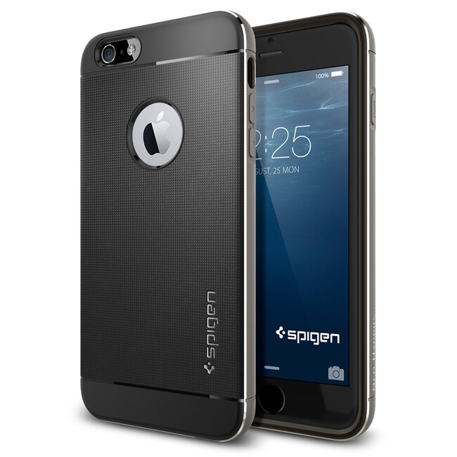 Чехол Spigen Neo Hybrid Metal Space Gray для iPhone 6/6s Plus