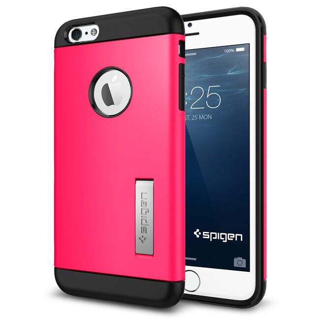 Чехол Spigen Slim Armor Azalea Pink для iPhone 6/6s Plus