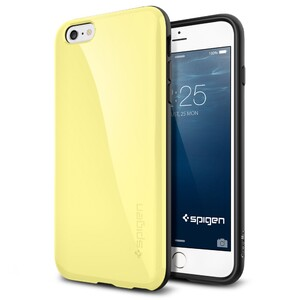 Купить Чехол Spigen Capella Lemon Yellow для iPhone 6/6s Plus