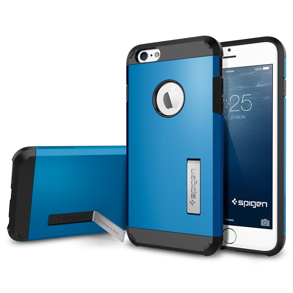Чехол Spigen Tough Armor Electric Blue для iPhone 6/6s Plus