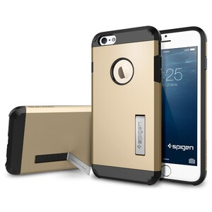 Купить Чехол Spigen Tough Armor Champagne Gold для iPhone 6/6s Plus