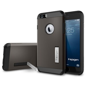 Купить Чехол Spigen Tough Armor Gunmetal для iPhone 6/6s Plus