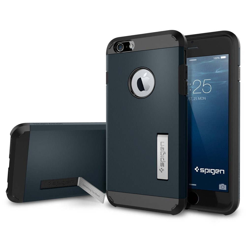 Чехол Spigen Tough Armor Metal Slate для iPhone 6/6s Plus