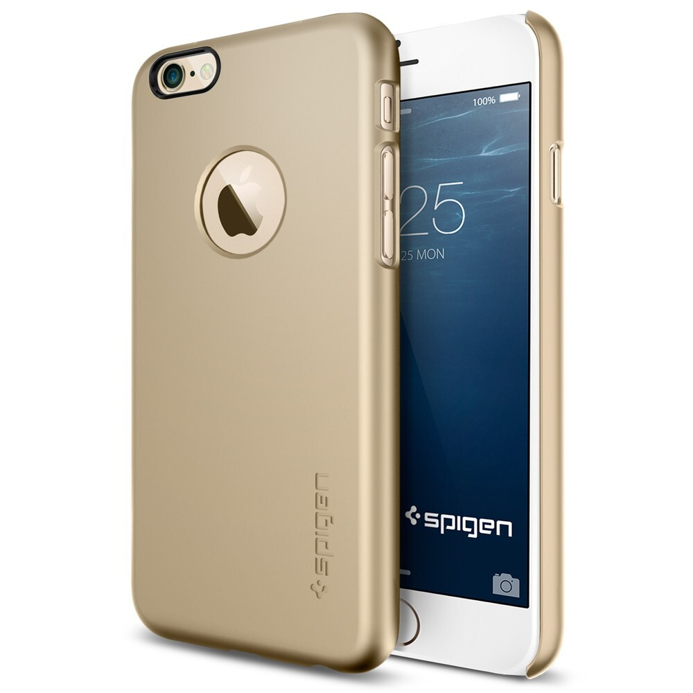Чехол Spigen Thin Fit A Champagne Gold для iPhone 6/6s