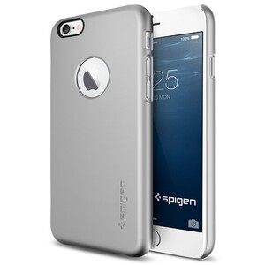 Купить Чехол Spigen Thin Fit A Satin Silver для iPhone 6/6s