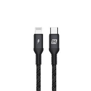 Купить Зарядный кабель для iPhone Momax Elite Link Lightning to Type-C 0.3m Black