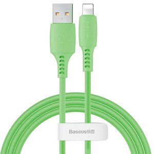 Купить Зарядный кабель для iPhone 1.2м Baseus USB to Lightning Colourful Cable Green