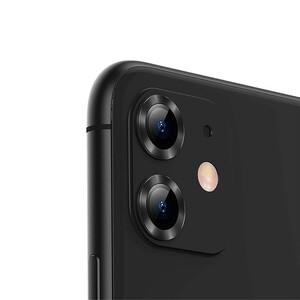 Купить Защитное стекло для камеры iPhone 11 Baseus Alloy Protection Ring Lens Film Black