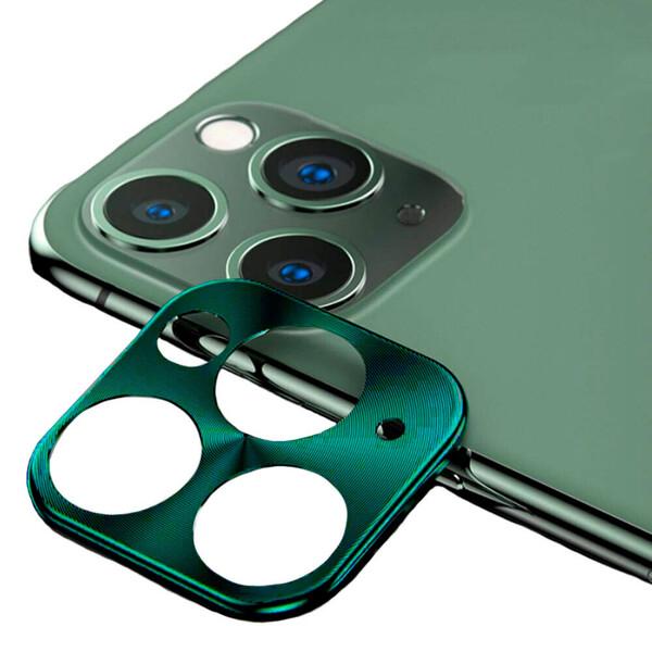 Защитная рамка для камеры iPhone 11 Pro | 11 Pro Max iLoungeMax Lens Metal Midnight Green