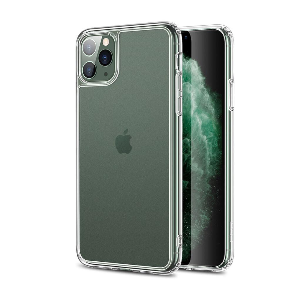 Стеклянный чехол для iPhone 11 Pro ESR Matte Tempered Glass Clear