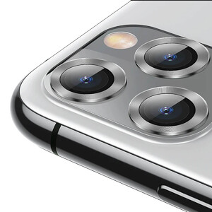 Купить Защитное стекло для камеры iPhone 11 Pro/Pro Max Baseus Alloy Protection Ring Lens Film Silver