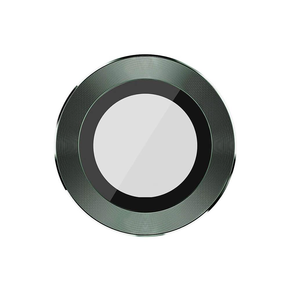 Купить Защитное стекло для камеры iPhone 11 Pro | Pro Max Nillkin CLRFilm Tempered Glass Midnight Green (1 шт.)