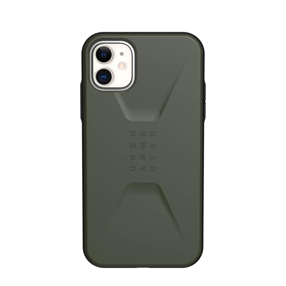 Купить Противоударный чехол для iPhone 11 UAG Civilian Series Olive Drab