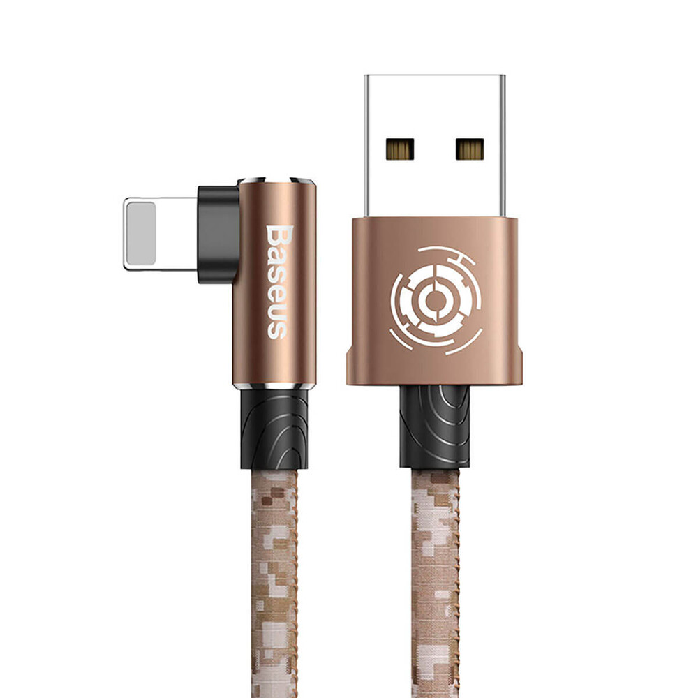 Купить Зарядный кабель для iPhone 1м Baseus Camouflage USB to Lightning Cable Brown