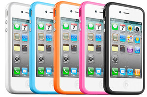 """Купить Чехол  Apple """"Бампер"""" для iPhone 4/4S"""