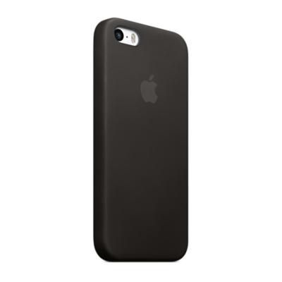 Купить Оригинальный кожаный чехол Apple Case для iPhone 5 | 5S | SE Black (MF045)