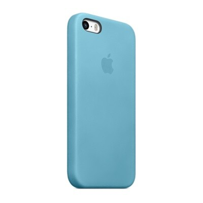 Чехол Apple Case (MF044) для iPhone 5/5S/SE Blue