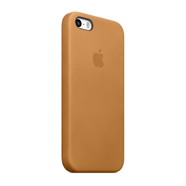 Чехол Apple Case OEM для iPhone 5/5S/SE Brown