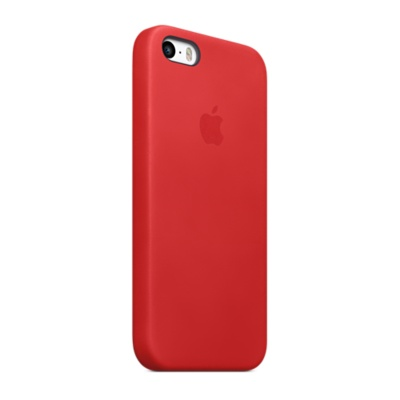 Чехол Apple Case (MF046) для iPhone 5/5S/SE RED PRODUCT