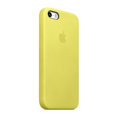 Чехол Apple Case (MF043) для iPhone 5/5S/SE Yellow