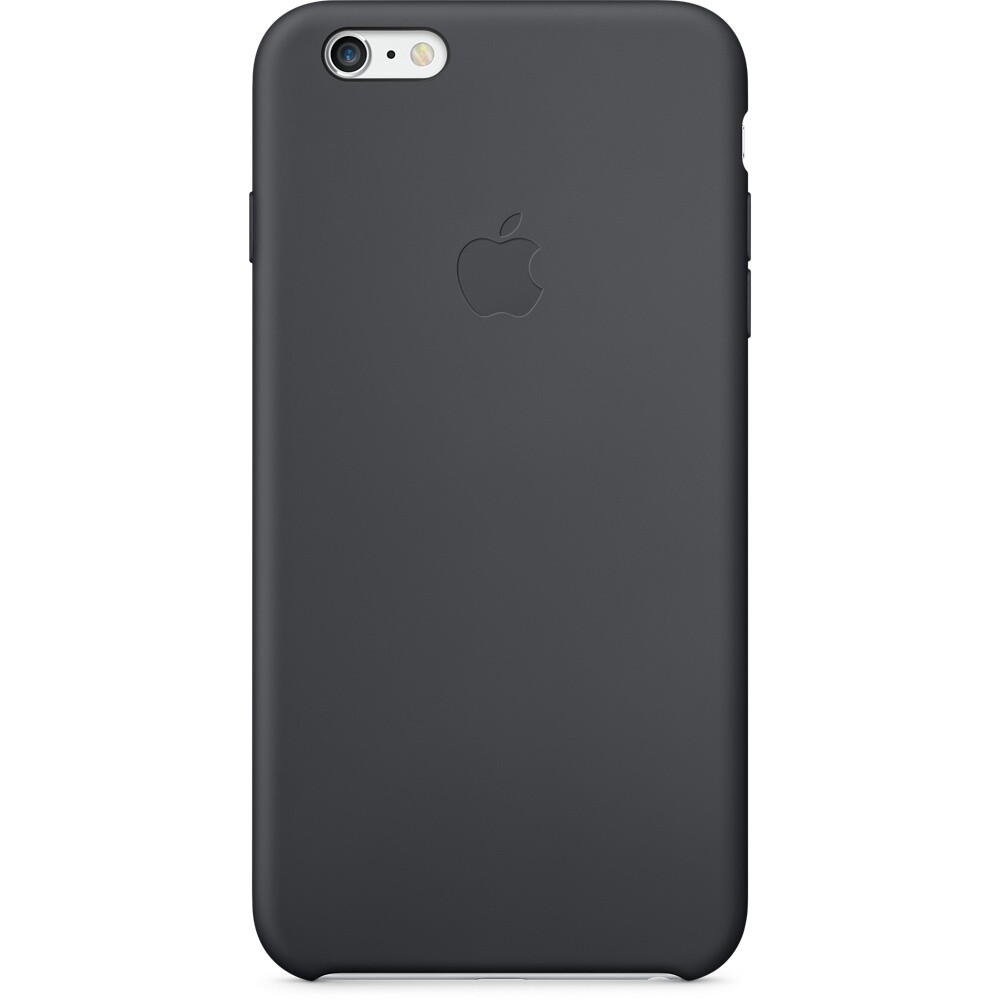 Чехол Apple Silicone Case Black (MKXJ2) для iPhone 6/6s Plus