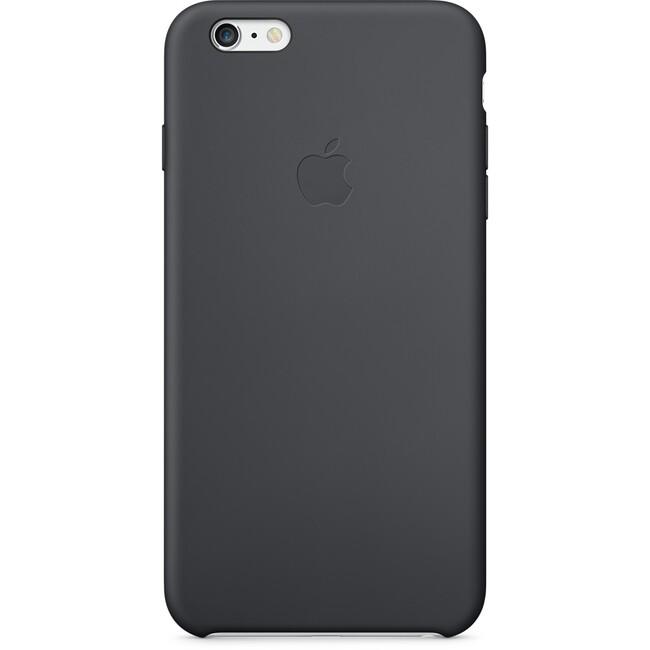 Чехол Apple Silicone Case Black (MKXJ2) для iPhone 6/6s Plus