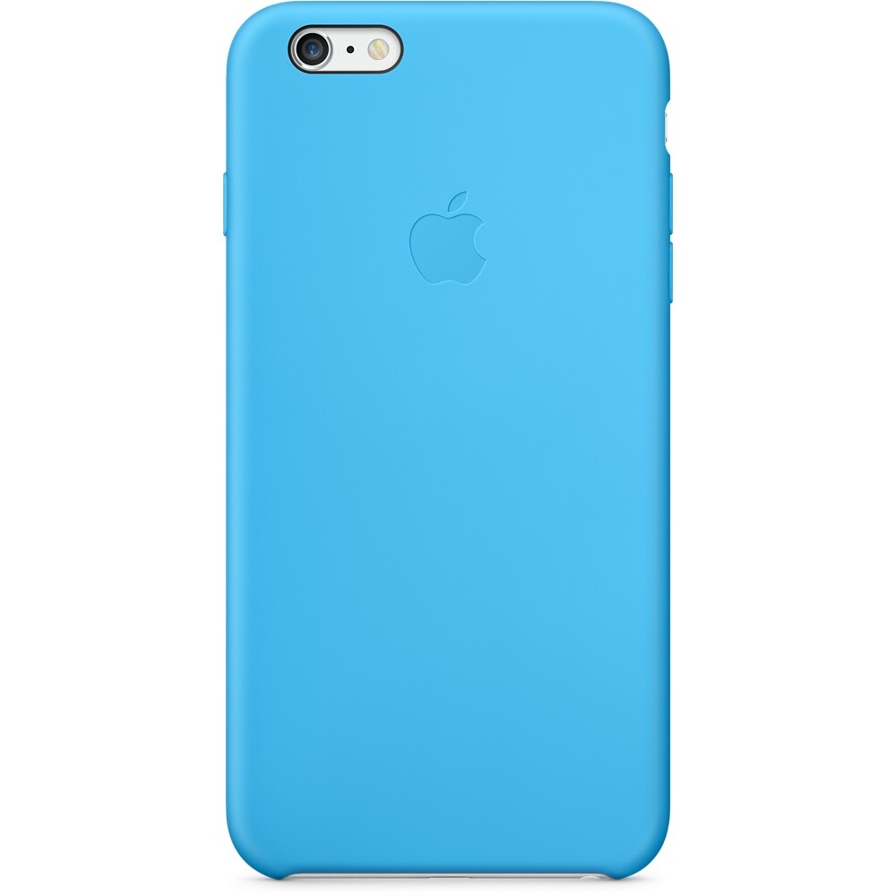Чехол Apple Silicone Case Blue для iPhone 6 Plus/6s Plus
