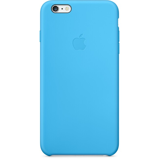 Чехол Apple Silicone Case Blue для iPhone 6/6s Plus