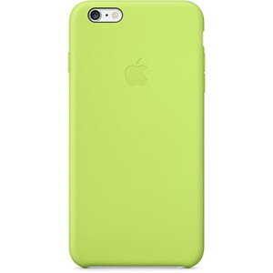 Купить Чехол Apple Silicone Case Green для iPhone 6/6s Plus