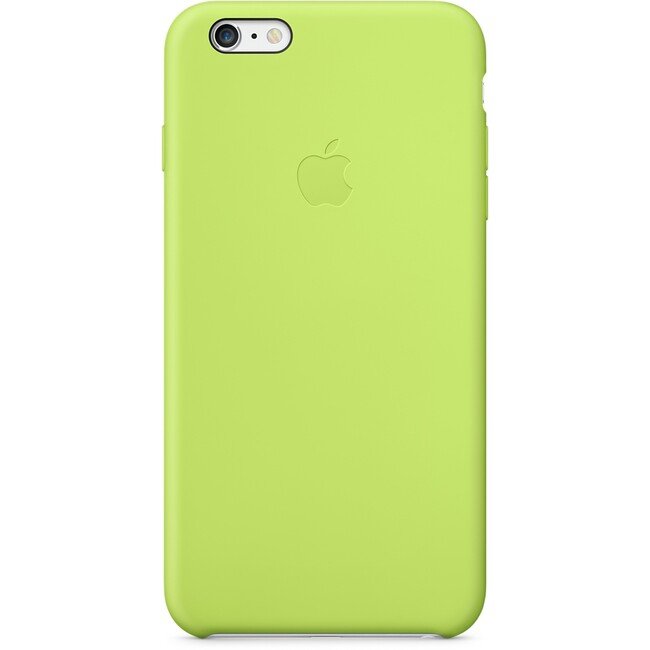 Чехол Apple Silicone Case Green (MGXX2) для iPhone 6/6s Plus