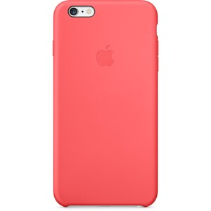 Купить Чехол Apple Silicone Case Pink (MGXX2) для iPhone 6/6s Plus