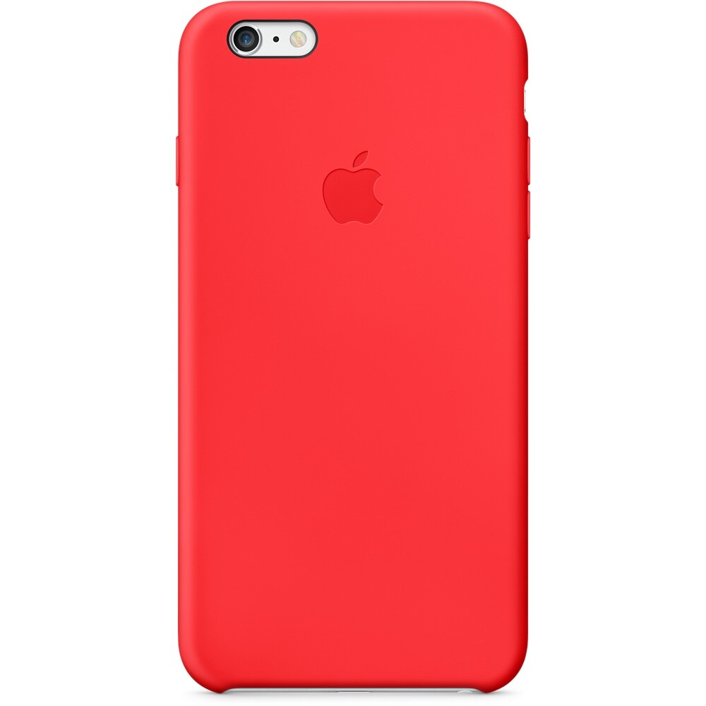 Чехол Apple Silicone Case (PRODUCT) RED для iPhone 6 Plus/6s Plus
