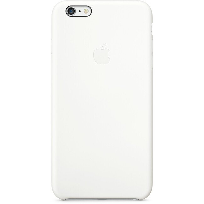 Чехол Apple Silicone Case White для iPhone 6/6s Plus
