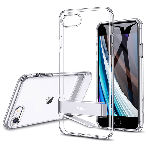 Прозрачный чехол-подставка ESR Air Shield Boost Clear для iPhone 8 | 7 | SE 2020