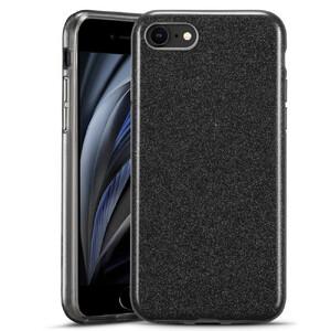 Купить Черный силиконовый чехол ESR Makeup Glitter Case Black для iPhone 8 | 7 | SE (2020)