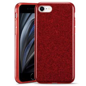 Купить Силиконовый чехол для iPhone 8/7/SE (2020) ESR Makeup Glitter Case Red