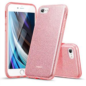 Купить Силиконовый чехол ESR Makeup Glitter Case Rose Gold для iPhone 8 | 7 | SE (2020)