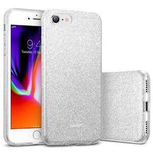Купить Силиконовый чехол ESR Makeup Glitter Case Silver для iPhone 8 | 7 | SE (2020)