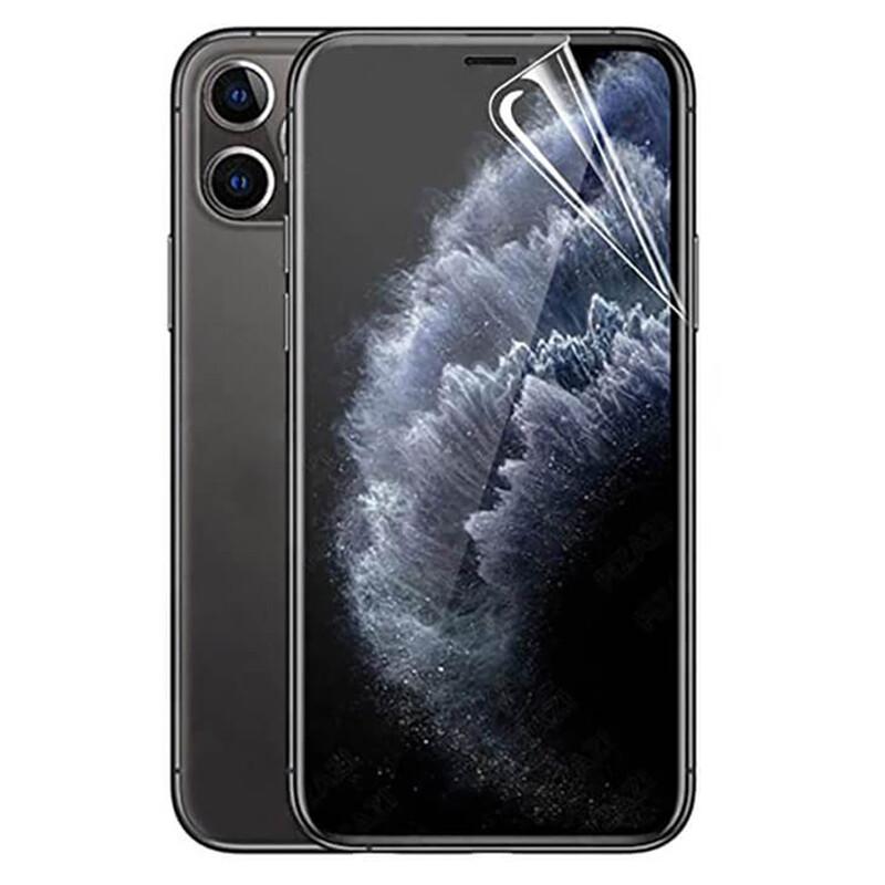 Матовая защитная гидрогелевая пленка для iPhone 11 Pro Max   XS Max iLoungeMax Hydrogel Film Matte