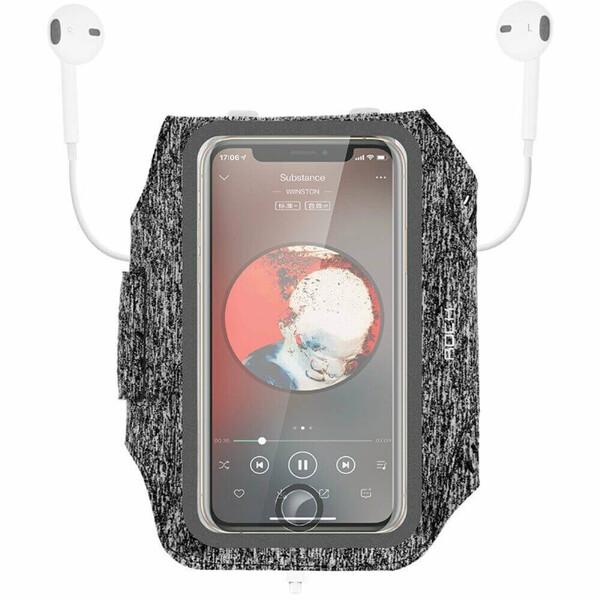 "Спортивный чехол на руку Rock Fitness Armband для iPhone (до 5.5"") Black"