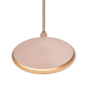 Купить Беспроводная зарядка для iPhone/Samsung Decoded FastPad Wireless Charger Rose/Gold