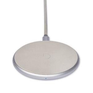 Купить Беспроводная зарядка для iPhone/Samsung Decoded FastPad Wireless Charger Grey/Silver