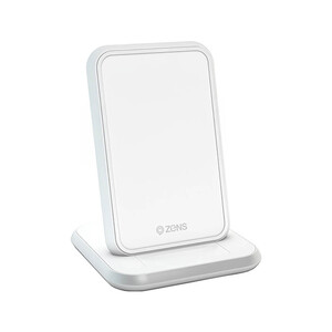 Купить Беспроводная зарядка для iPhone | Samsung Zens Stand Aluminium Wireless Charger 10W White