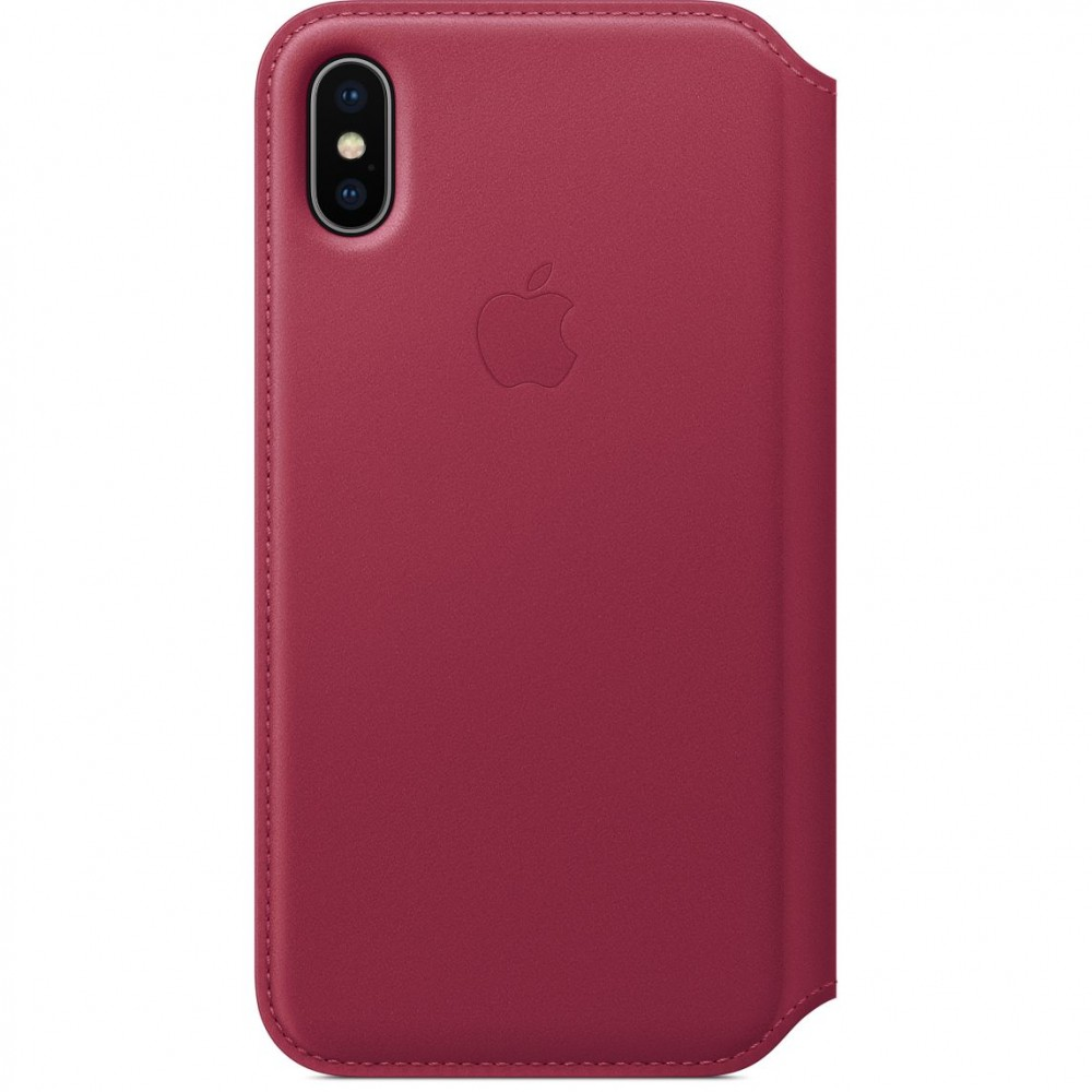 Apple Leather Folio iPhone X